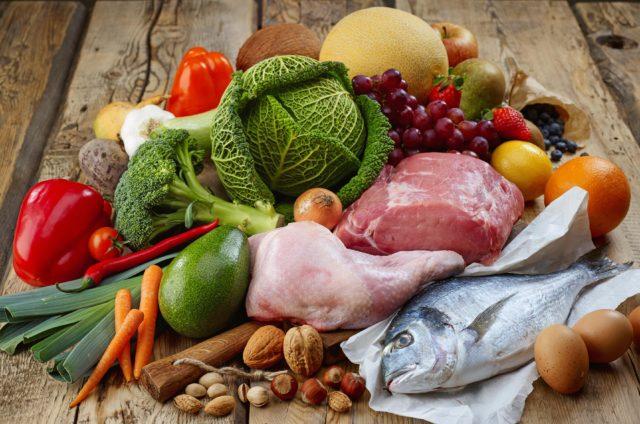Преобладать должна белковая пища