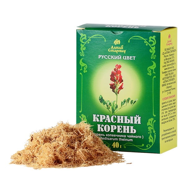 Красный корень (копеечник забытый) содержит большое количество полезных веществ и минералов для мужского здоровья