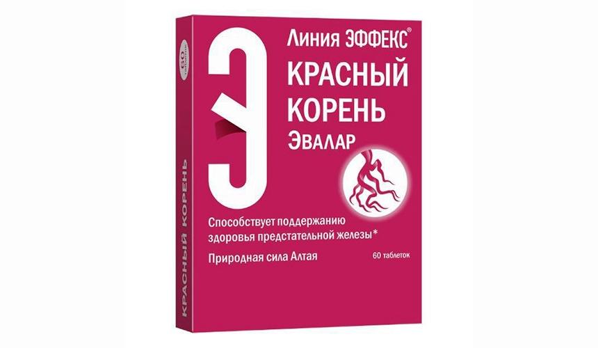Красный корень от простатита