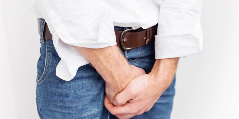 Просак у мужчин болит