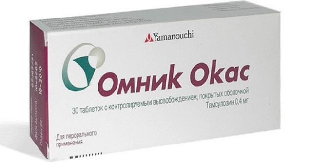 Препарат относится к альфа-адреноблокаторам